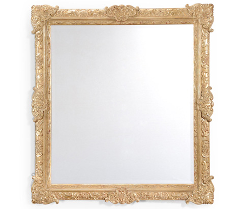 Jonathan Charles - French Style Gilt Grisaille Mirror - 494122