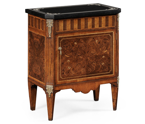 Jonathan Charles - Italian Commode with Black Scagliola Top - 494178