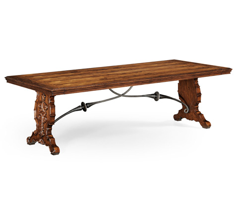Jonathan Charles - Spanish Dining Table Plank Top - 494195