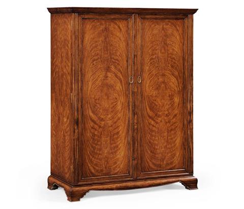 Image of Large Crotch Walnut Wardrobe