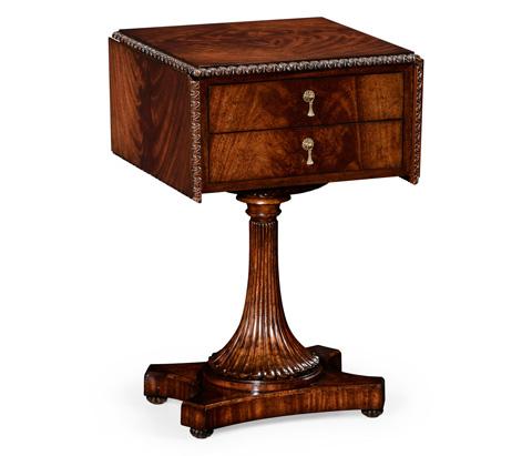 Jonathan Charles - William IV Mahogany Table with Side Panels - 494484