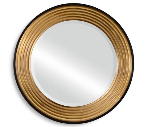Jonathan Charles - Contemporary Circular Recessed Mirror - 494565