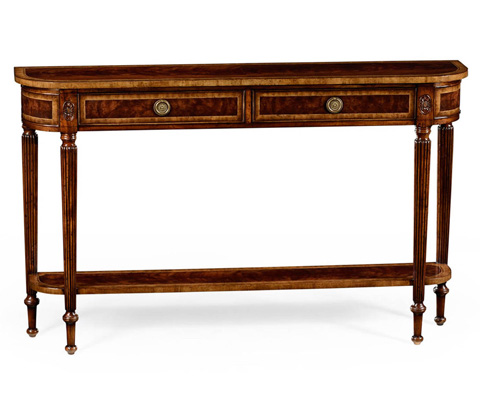 Jonathan Charles - Classic Regency Style Console with Undertier - 494600