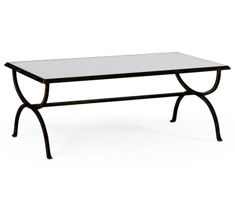 Jonathan Charles - Bronze Coffee Table - 494675-B