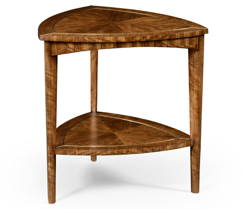 Jonathan Charles - Hyedua Triangular Side Table - 494688