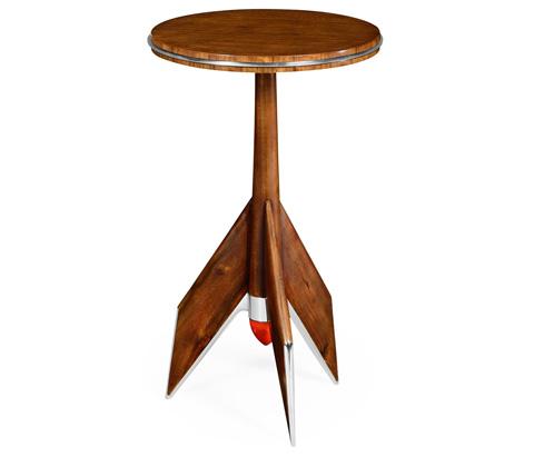 Jonathan Charles - Tailfin Lamp Table - 494851