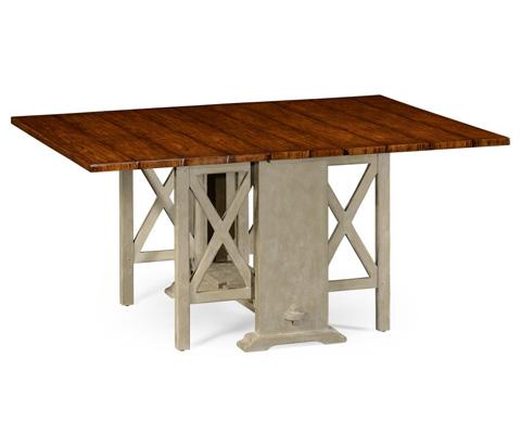 Jonathan Charles - Gustavian Style Gateleg Dining Table - 494884