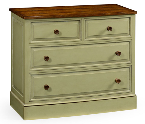 Jonathan Charles - Gustavian Style Small Chest of Drawers - 494918
