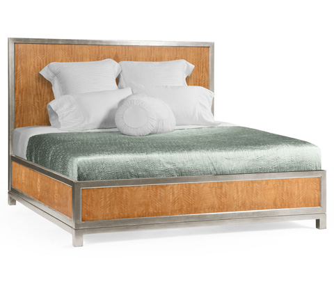 Jonathan Charles - Herringbone Argyle Blazer King Bed - 494931