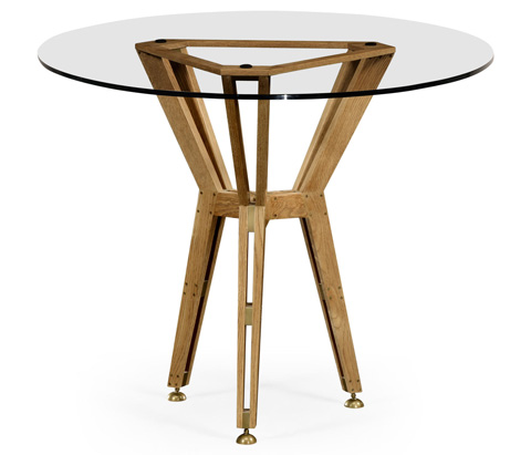 Jonathan Charles - Architectural Circular Centre Table - 495089
