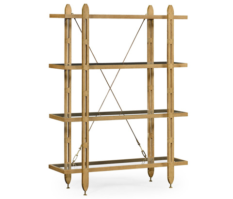 Image of Four Tier Architectural Etagere