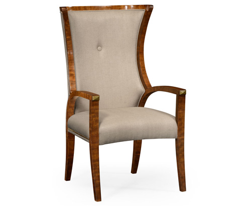 Jonathan Charles - Cosmo Dining Arm Chair - 495195-DMF-AC
