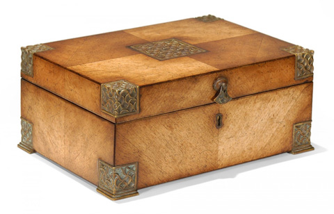 Image of Lockable Deeds Style Box