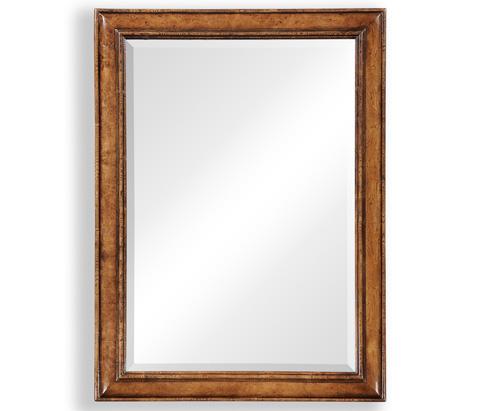 Jonathan Charles - Oak Cushion Frame Mirror - 492562