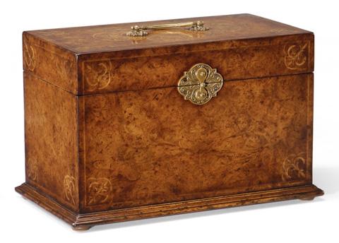 Jonathan Charles - Seaweed Jewellery Box - 493279