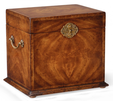 Image of Crotch Walnut Jewellery Tall Box
