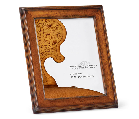 Jonathan Charles - Country Walnut Picture Frame - 493311