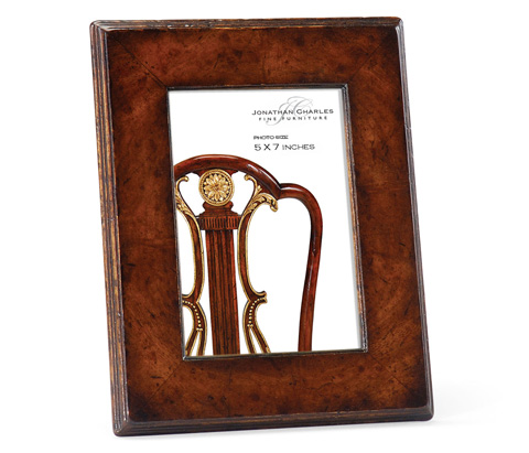 Image of Crotch Walnut Picture Frame