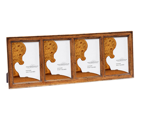 Image of Satinwood Ribbed Picture Frame