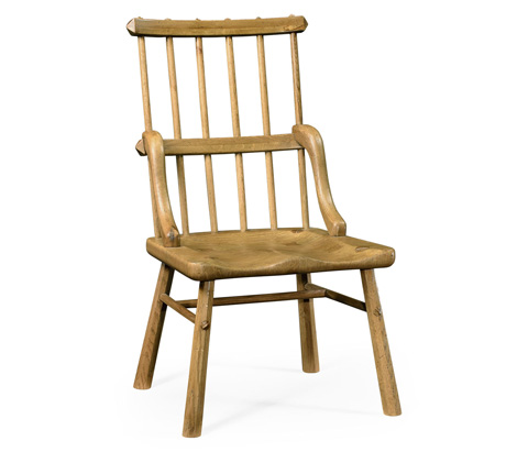Image of Natural Oak Country Side Chair