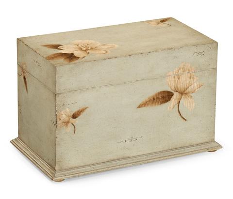 Jonathan Charles - Painted Floral Rectangular Box - 493512