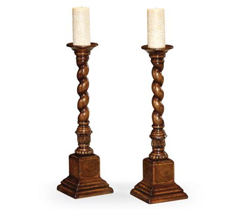 Jonathan Charles - Oyster Candlesticks - 493567