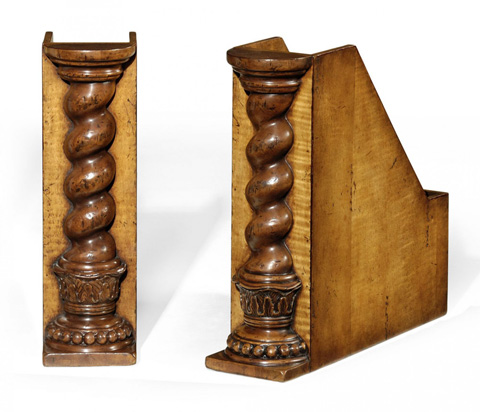 Jonathan Charles - Pair Of Box File Bookends - 493754