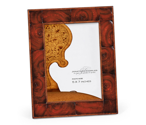 Jonathan Charles - Oyster Veneered Picture Frame - 493787