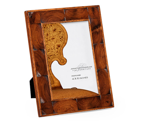 Jonathan Charles - Oyster Veneered Picture Frame - 493788