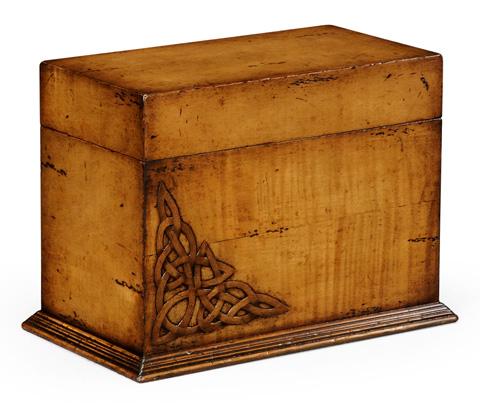 Image of Raised Celtic Veneer Letter Box