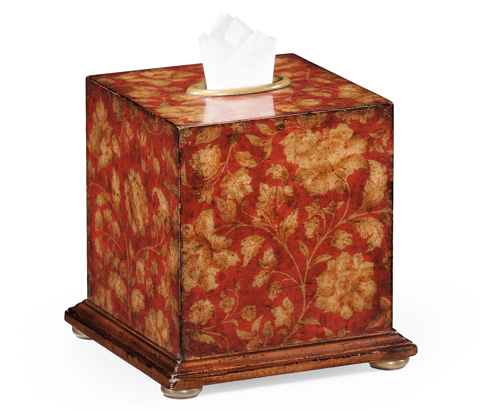 Image of Chinoiserie Tissue Box