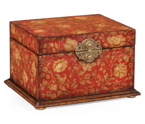 Image of Chinoiserie Lidded Jewellery Box