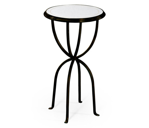 Jonathan Charles - Bronze Iron Lamp Table With Bunched Legs - 494189-B