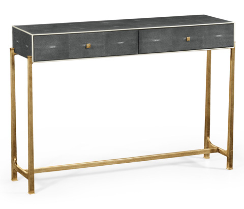 Jonathan Charles - Console Table With Gilded Base - 494325-G
