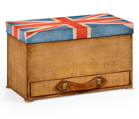 Image of Union Jack Rectangular Box