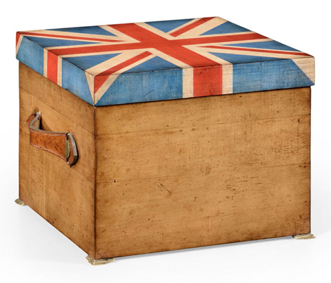 Image of Union Jack Square Box