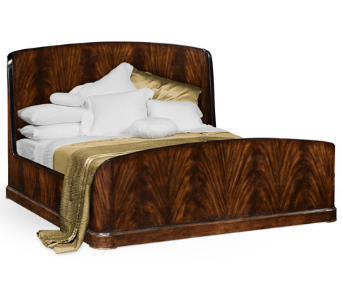 Image of Mahogany Biedermeier Bed