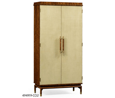 Image of Hyedua and Celadon Finish Tall Drinks Cabinet
