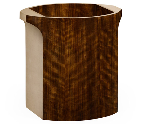 Jonathan Charles - Cosmo Waste Basket in Ivory - 494991