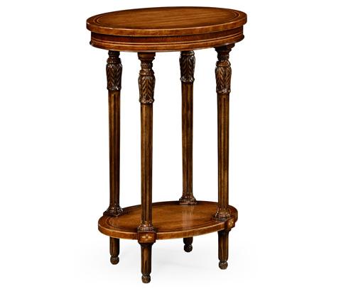Image of Napoleon III Style Oval Wine Table