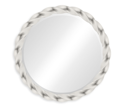 Image of Silver Twised Mirror