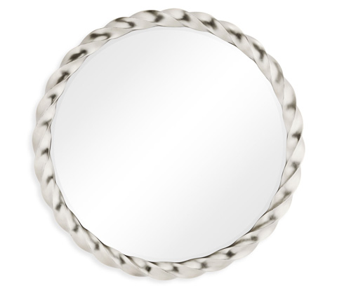 Image of Silver Twisted Mirror