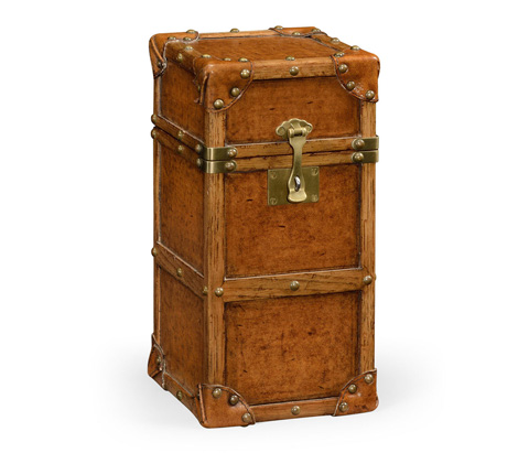 Image of Travel Trunk Style Wine Box