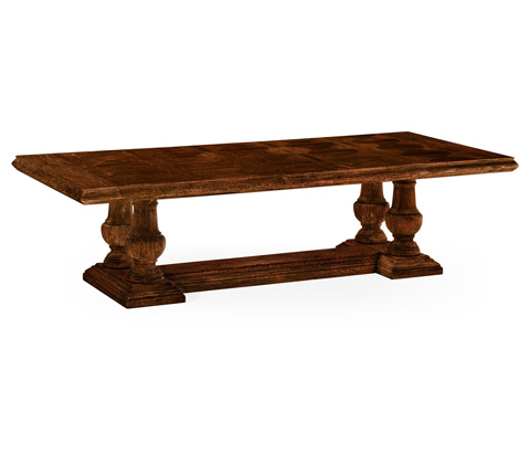 Image of Rustic Walnut Dining Table