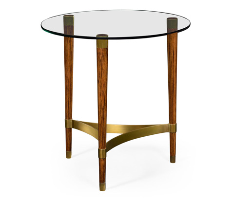 Image of Hyedua Wood Lamp Table