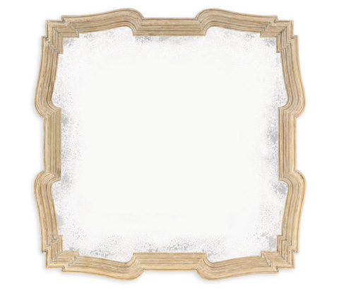 Jonathan Charles - Limed Acacia Antique Mirror - 495330-LMA