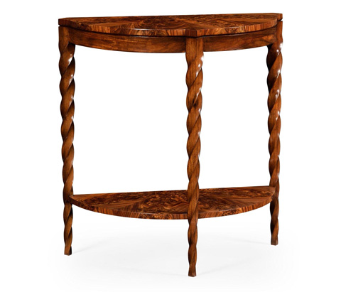 Jonathan Charles - Demilune Console - 495338-WLL