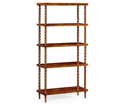 Image of Walnut Bookcase