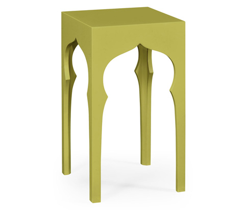 Image of Square Lamp Table