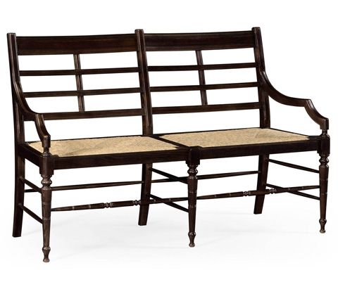 Image of Marshfield Sofa In Chocolate Oak